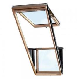 Окно-балкон и терраса Velux