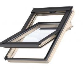 Окна с открыванием по центральной оси Velux