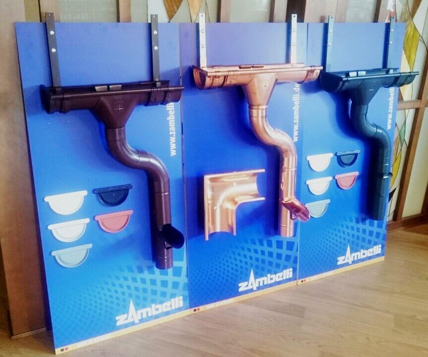Водосточные системы ZAMBELLI уже в Беларуси
